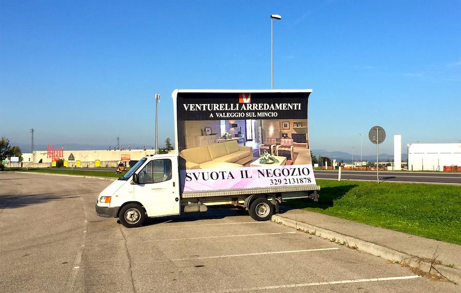 camion vela vicenza noleggio pubblicita prezzi