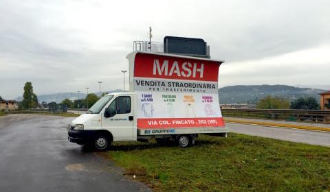 noleggio camion vela pubblicitaria verona
