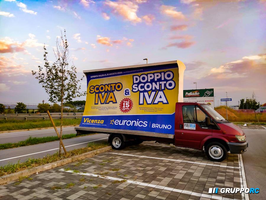 camion vela vicenza padova verona noleggio agenzia pubblicitaria