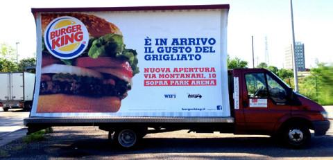 noleggio camion vela verona pubblicita affissioni