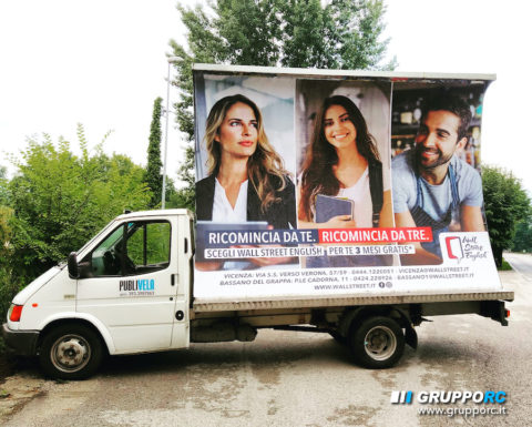 camion vela vicenza padova pubblicita agenzia campagne pubblicitarie marketing