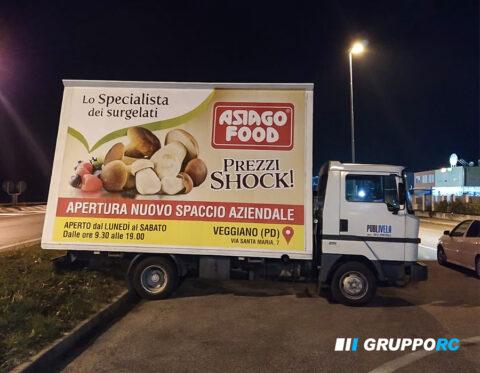 noleggio camion vela vicenza verona padova pubblicita